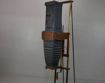 Antique Converted Photo Enlarger Lamp