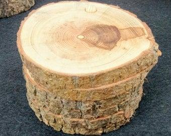 Artisan Ash Wood coasters.