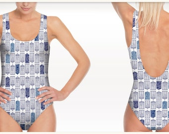 Swimsuit Doctor Who - Tardis