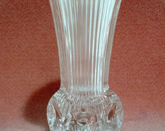 Vintage Lead Crystal Bud Vase