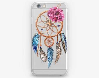 Dreamcatcher iPhone Case Flower iPhone 7 Case Dream Catcher Case iPhone 6 Cover iPhone SE iPhone 4-5 Cell Phone Case iPod, Galaxy Edge Case