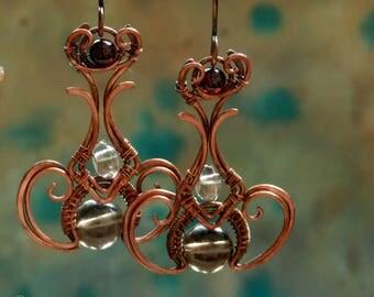Pendula * earrings of the time
