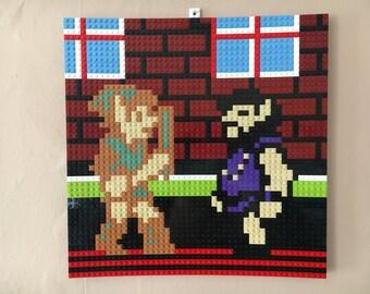 Zelda II LEGO Mosaic - I am Error