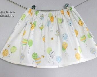 Girls skirt, Toddler Skirt, Baby Skirt, Twirl Skirt, Children's Skirt, Age 3 Years