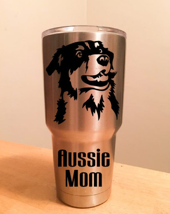 Aussie Mom Decal For Yeti
