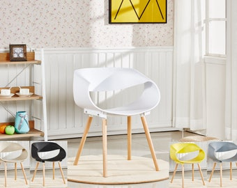 Nest Designer Style Chair / chaise DAW design scandinave Dining Chair or Office Chair EAMES