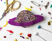 Galaxy badge making kit- badge- pin- DIY kit- favours, party favours, craft kit -craft supplies -jewellery making supplies- party bags