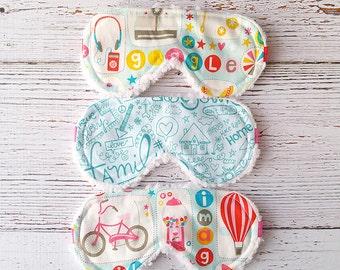 Party Favor - Kids Sleep Mask -  Christmas In July - Girls Sleepwear - Travel Mask - Gifts For Her - Easter - Sleeping Mask