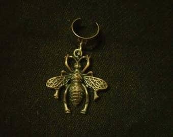 Bee dreadlock bead cuff