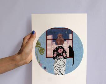 Thinking Of You (artprint)