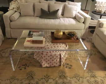 Lucite table Etsy