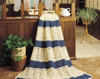 Blue Shells Afghan