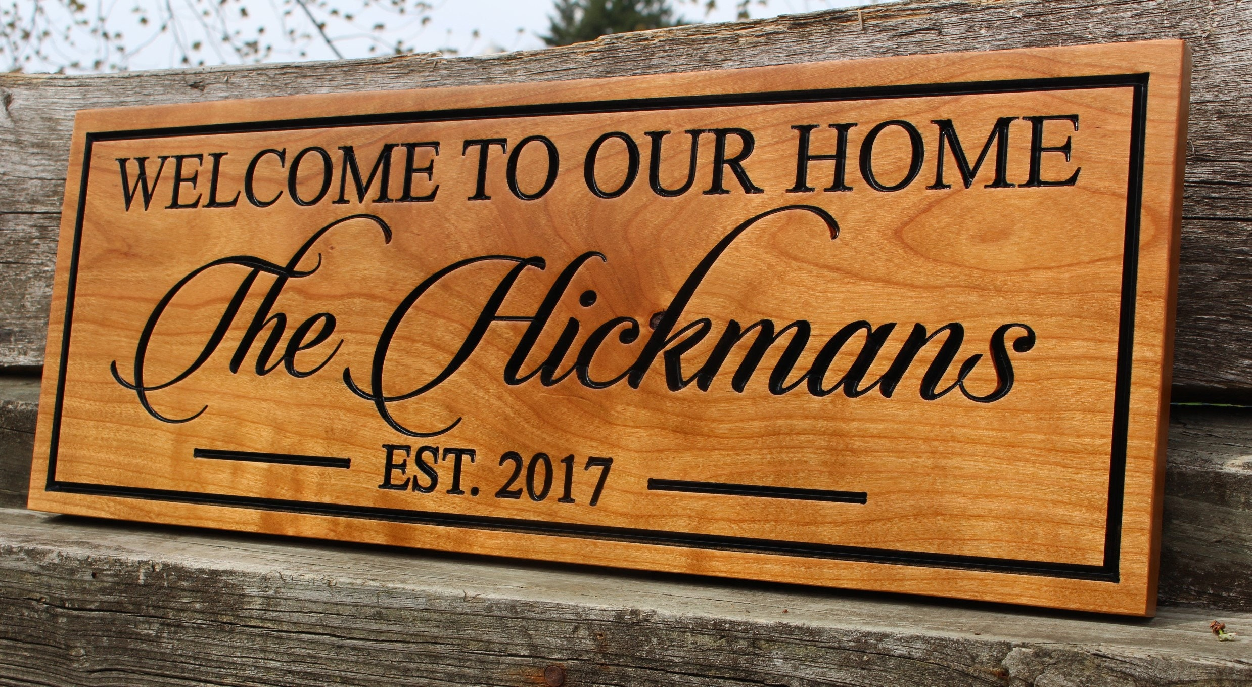 welcome signs personalized - HD2477×1359