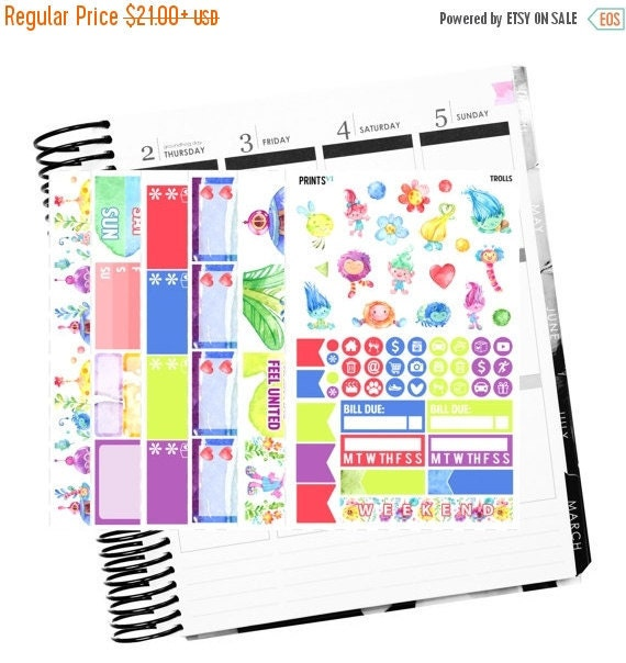 Trolls Daily Planner Kit