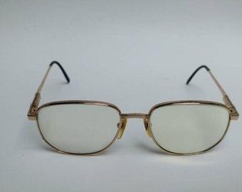 Vintage Bouvret glasses gold frame