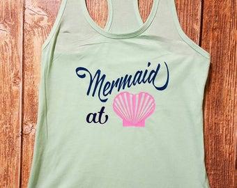 Mermaid at Heart Tank