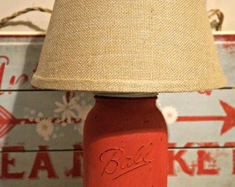 Half Gallon Mason Jar Lamp