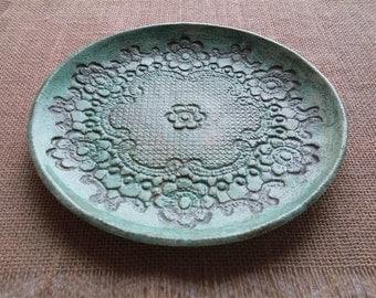 türkise teller keramik teller set türkise schalen deko - Trkise Wand