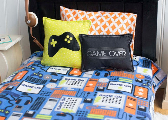 Gamer Bedding Set Video Game 18 Doll Bedding Boys Doll