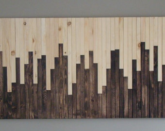 Rustic Wall Art Handmade Of 100% Reclaimed Wood, Wall Art,  Wood Wall Art,  Wooden Wall Art, Wall Art Sculpture