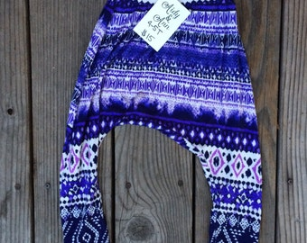 Up-Cycled, 4-5T, Harem Pants