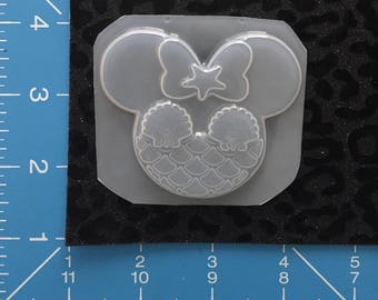 Mermaid starfish minnie mold
