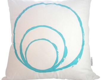 Splendour large cotton canvas cushion cover