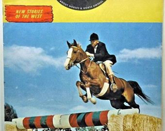 Horse Lover's Magazine June-July, 1964 Magazine!
