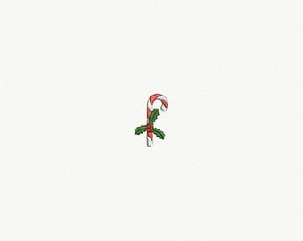 Mini Christmas Candy Machine Embroidery Design - 1 Size