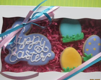 Easter bunny/eggs boxed
