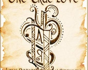 Sigil Collection 2015: One True Love - Perfume Potion - Love Potion Magickal Perfumerie