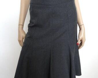 Jupe GERARD DAREL laine gris taille 36 - uk 8 - us 4