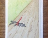 Dragonfly, Greeting Card,...