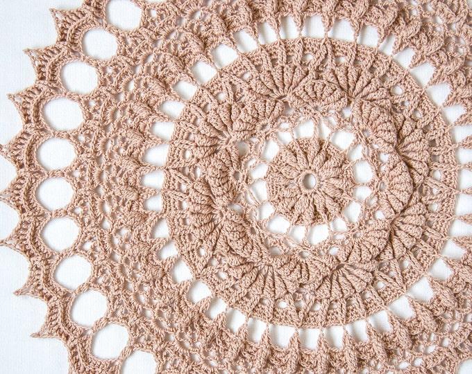 Crochet doily pattern TUULI