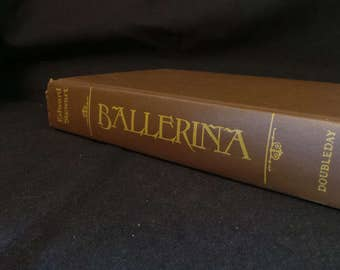 SALE Vintage 1979 Ballerina Edward Stewart Romance Novel Hardcover Book