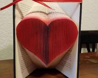 Folded Page Book Art