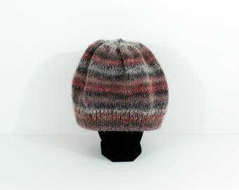 Handmade Ombre Soft Slouchy Knit Beanie Hat