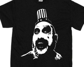 Captain Spaulding - House of 1000 Corpses - Devil's Rejects - T Shirt - Horror