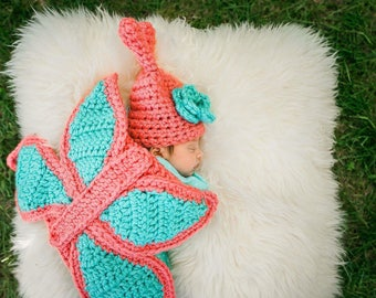 Newborn Butterfly Outfit - Photo Prop