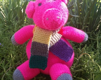Small & Bright Pink Piglet
