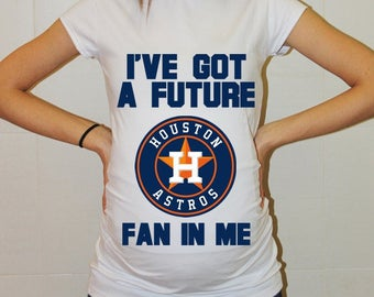 Houston Astros Baby Houston Astros Shirt Women Baseball Maternity Shirt Funny Pregnancy Shirts Pregnancy Clothes