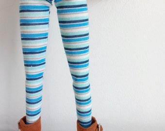 Striped tights for pullip stock body and obitsu 27