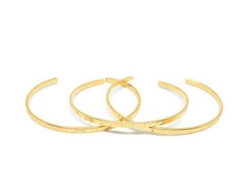 Gold Cuff Bracelet, Bangle Bracelet, Hammered Bangle, Jewelry,Cuff Bracelets for Women,Stacking Bangles,Plain Bracelet,Gold Bangle