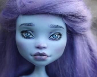 Monster High ooak Pastel, repaint doll