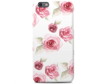 Rose iPhone 6 Case, iPhone 6S Case, iPhone 6 Plus Case, iPhone 5 Case, iPhone 5S Case, iPhone 5C Case, Samsung Galaxy Case S5, S6, S7