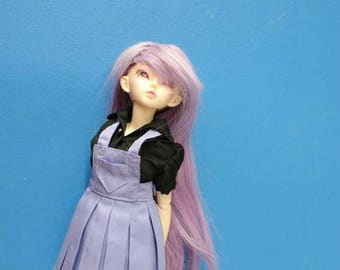 BJD MSD SD Minifeé pleated skirt overall