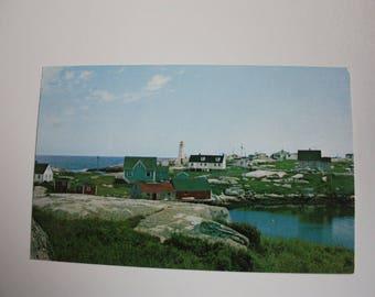 Peggy's Cove Nova Scotia Postcard / Peggy's Cove Souvenir Postcard / Maritimes Postcard / Peggy's Cove Postcard