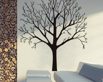 Bare Tree,  - Wall or Window Decal ~ Choose from: Small, Medium, Large, or XXL