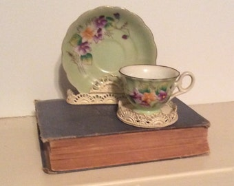 Vintage Demi Cup and Saucer