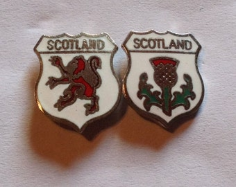 Vintage Scotland Football Badges